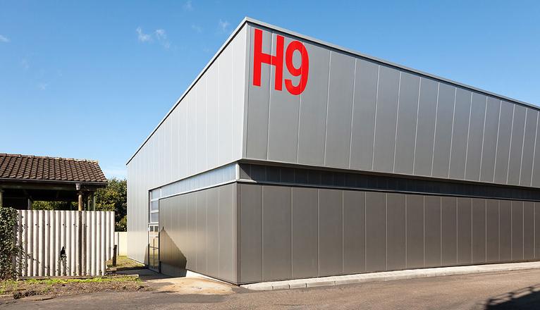 Neubau modelllagerhalle steinwender architekten heide - Steinwender architekten ...