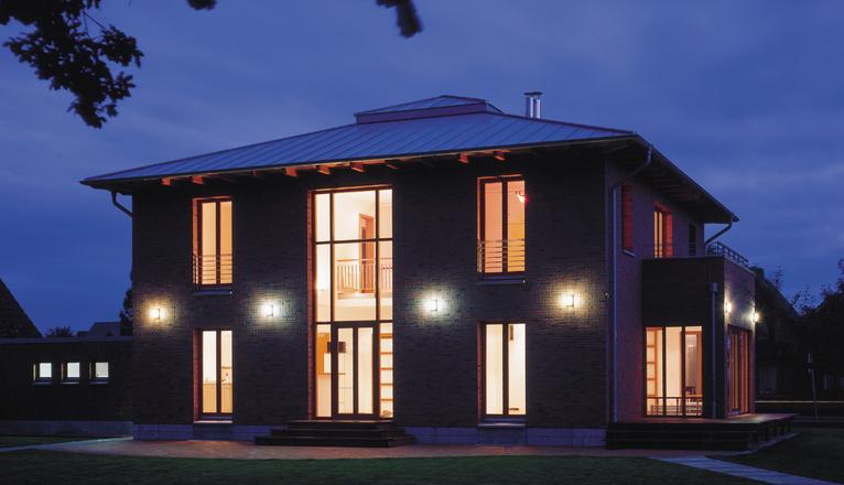 Neubau wohnhaus k steinwender architekten heide - Steinwender architekten ...
