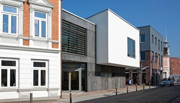 Kultur und b rgerhaus steinwender architekten heide - Steinwender architekten ...